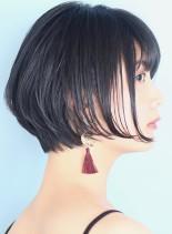 濡れ感◇コンパクトショート(髪型ショートヘア)