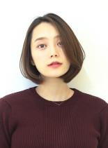 ひし形スタイルボブ(髪型ボブ)