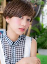 シンプル可愛い★マッシュボブ(髪型ショートヘア)