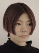前下がりショートボブ(髪型ショートヘア)