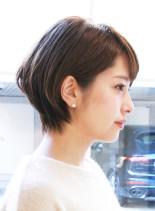 30代40代50代おすすめショート(髪型ショートヘア)