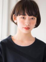 骨格美×大人可愛いフレンチショート(髪型ショートヘア)