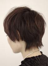 ウルフショートスタイル(髪型ショートヘア)