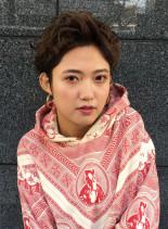 メンズライクショート(髪型ベリーショート)