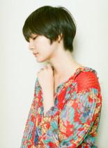 エアリー ユニセックスショート(髪型ショートヘア)