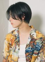 【30代】大人ハンサムエアリーショート(髪型ショートヘア)