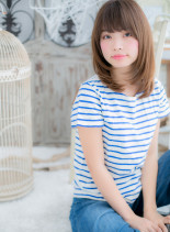 シルキータッチ★ピュアミディ(髪型ミディアム)