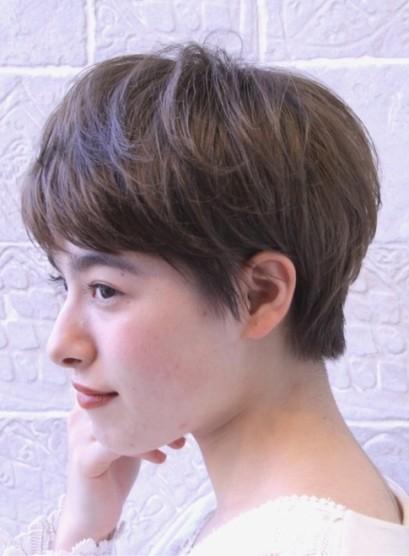 愛されフレンチショート(髪型ベリーショート)