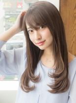 ヘルシーロングレイヤー(髪型ロング)