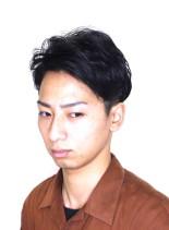 ワイルドツーブロック(髪型メンズ)