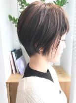大人女性の為のショート◎(髪型ショートヘア)