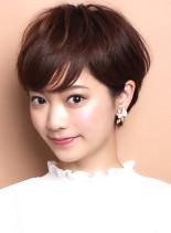 ☆トップふんわり☆大人のレイヤーショート(髪型ショートヘア)