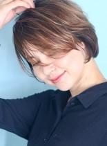 30代40代☆大人カッコいいショートヘア(髪型ショートヘア)