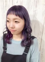 綺麗な色味詰め合わせカラー☆(髪型ミディアム)