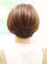 30代40代〜の大人ショートボブ(髪型ショートヘア)