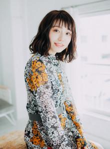 40代 手入れ簡単 ミディアム☆ウェーブ