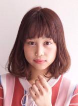 ワンカールボブスタイル(髪型ボブ)