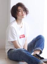 ストリートショートボブ(髪型ショートヘア)