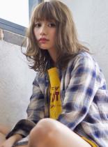 ストリートラフミディ(髪型ミディアム)