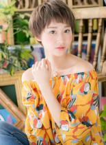 ガーリーショート★ラブカジュアル(髪型ショートヘア)