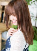 恋を仕掛ける...フェミニンストレート(髪型ロング)
