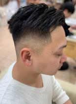 誰もが振り返る刈り上げスキンフェード(髪型メンズ)