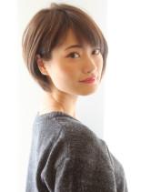 大人女子・ふんわり丸さが可愛いショート(髪型ショートヘア)