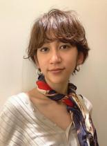 Edgeパーマstyle(髪型ショートヘア)