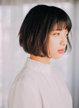 米倉涼子風の髪型 ツヤ☆ボブ(髪型ボブ)