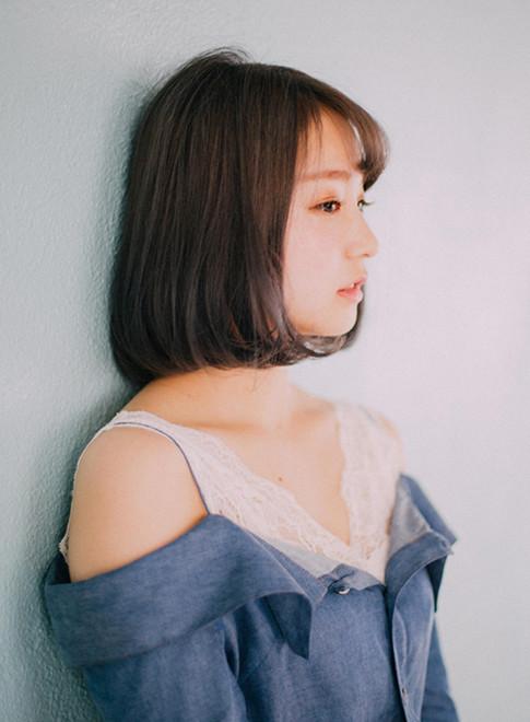 永野芽郁さん風 ボブ パーマ(ビューティーナビ)