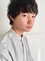 アンニュイ重めマッシュ(髪型メンズ)