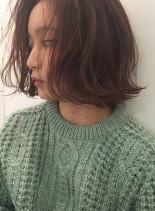 大人かわいい外ハネボブ(髪型ボブ)