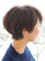 ソフトマッシュショート(髪型ショートヘア)