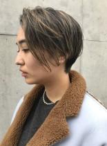 大屋夏南風グラボブ(髪型ショートヘア)
