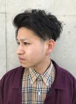 王道ツーブロックスタイル(髪型メンズ)