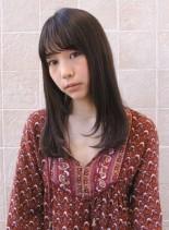 艶髪ストレート!ソフトレイヤースタイル(髪型ロング)