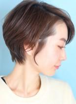 30代・40代大人のハンサムショート(髪型ショートヘア)