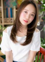 好感♪華やぎストレート(髪型ロング)