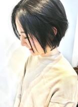 乾かすだけ◯大人女性の為のショートヘア(髪型ショートヘア)
