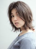 2019 人気 ウルフカット ボブウルフ(髪型ボブ)