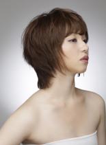 ウルフスタイル(髪型ショートヘア)