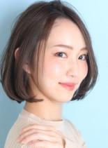 30代*40代前髪なしボブ☆(髪型ボブ)