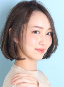 30代*40代前髪なしボブ☆(ビューティーナビ)