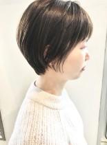 30代40代◯大人可愛いショート(髪型ショートヘア)