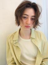 外国人風ボーイッシュショート(髪型ショートヘア)