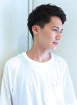 シンプルベリーショート(髪型メンズ)