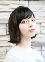 お手入れ簡単〜外ハネボブ(髪型ボブ)