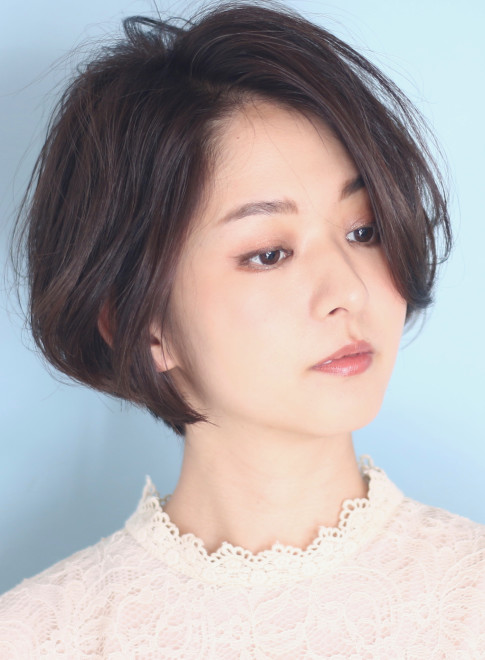 ショートヘア】広末涼子さん風☆30代40代美人ママボブ/BEAUTRIUM