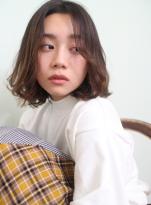 スタイリング☆簡単大人のゆるふわボブ