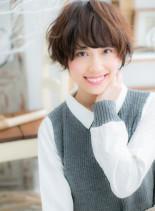ラブカジュアル★フェミニンショート(髪型ショートヘア)